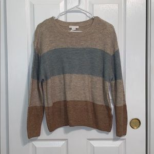 H&M Knit Striped Sweater